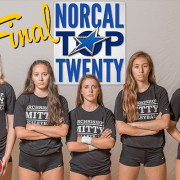 2017 Final NorCal Girls Volleyball Rankings