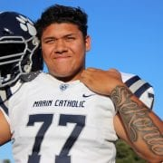Jamar Sekona: Marin Catholic Football's Terror In The Trenches