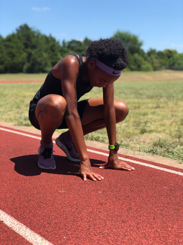 Training time, running workouts for North Carolina for the AAU Junior Olympics!
