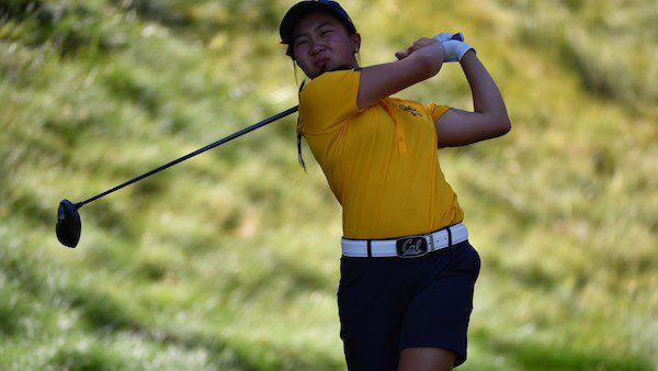 Cal Women's Golf, Sophomore Katherine Zhu. (High School: The Harker School), San Jose at the 54th California Women's Amateur