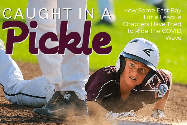 Bryson's First Pitch. sports dimmer switch. Little League: Caught In A Pickle   East Bay Chapters Ride COVID Wave