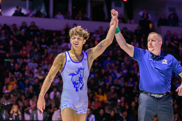 Bay Area 75 Rankings, Chase Saldate, Gilroy, Wrestling