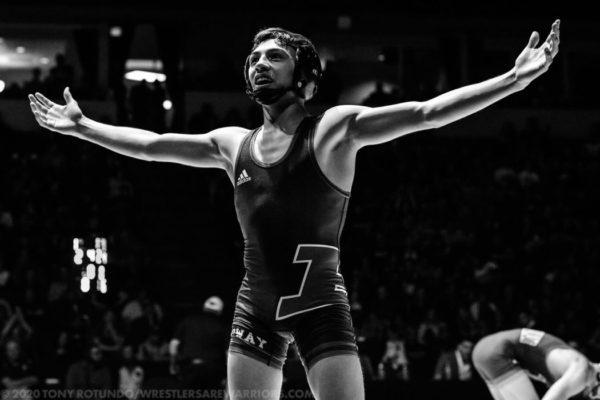 106 – ANDRE GONZALES (Poway, SD, 12) California State Champion/#1 Nation