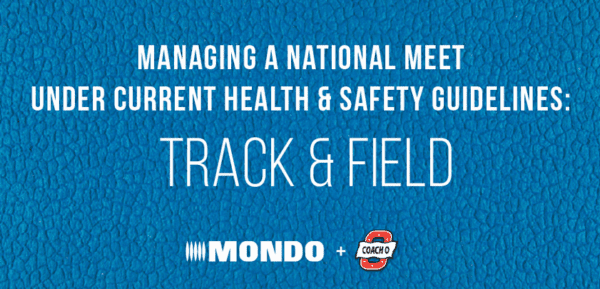 How to Manage a Track Meet Under Current Safety Guidelines