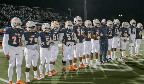 """Cosumnes Oaks Football   """"Civil Savages"""" Ready For Biggest Test"""