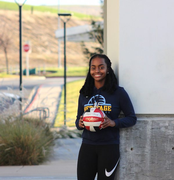 Rochelle Mosley, Heritage Volleyball, Brentwood