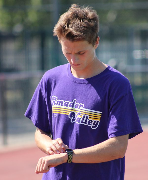 John Lester, Amador Valley, Track, 800 meters